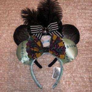 Disney Minnie Mouse ears Sally and Jack NWT